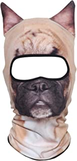 AXBXCX 3D Animal Neck Gaiter Warmer Windproof Full Face Mask Scarf for Ski Halloween Costume