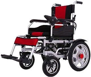 De peso ligero plegable sillas de ruedas eléctrica Silla de ruedas eléctrica plegable motorizado sillas de ruedas eléctricas, alimentación compacto Movilidad for sillas de ruedas Ayuda for el obeso an
