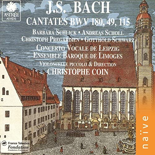 Christoph Pregardien, Barbara Schlick, Andreas Scholl, Christophe Coin, Ensemble Baroque de Limoges