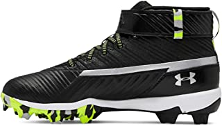 Under Armour Kids' Harper 3 Mid Jr. Rm Baseball Shoe