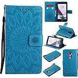 boxtii–Carcasa LG G4,–Funda de piel de primera calidad [con GRATIS Protector de pantalla de vidrio templado], funda con las ranuras de tarjeta de Crédito y Stand para LG G4