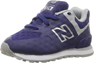 New Balance Kids' 574 Fashion Sneaker Breathe (Tod) Running Shoe