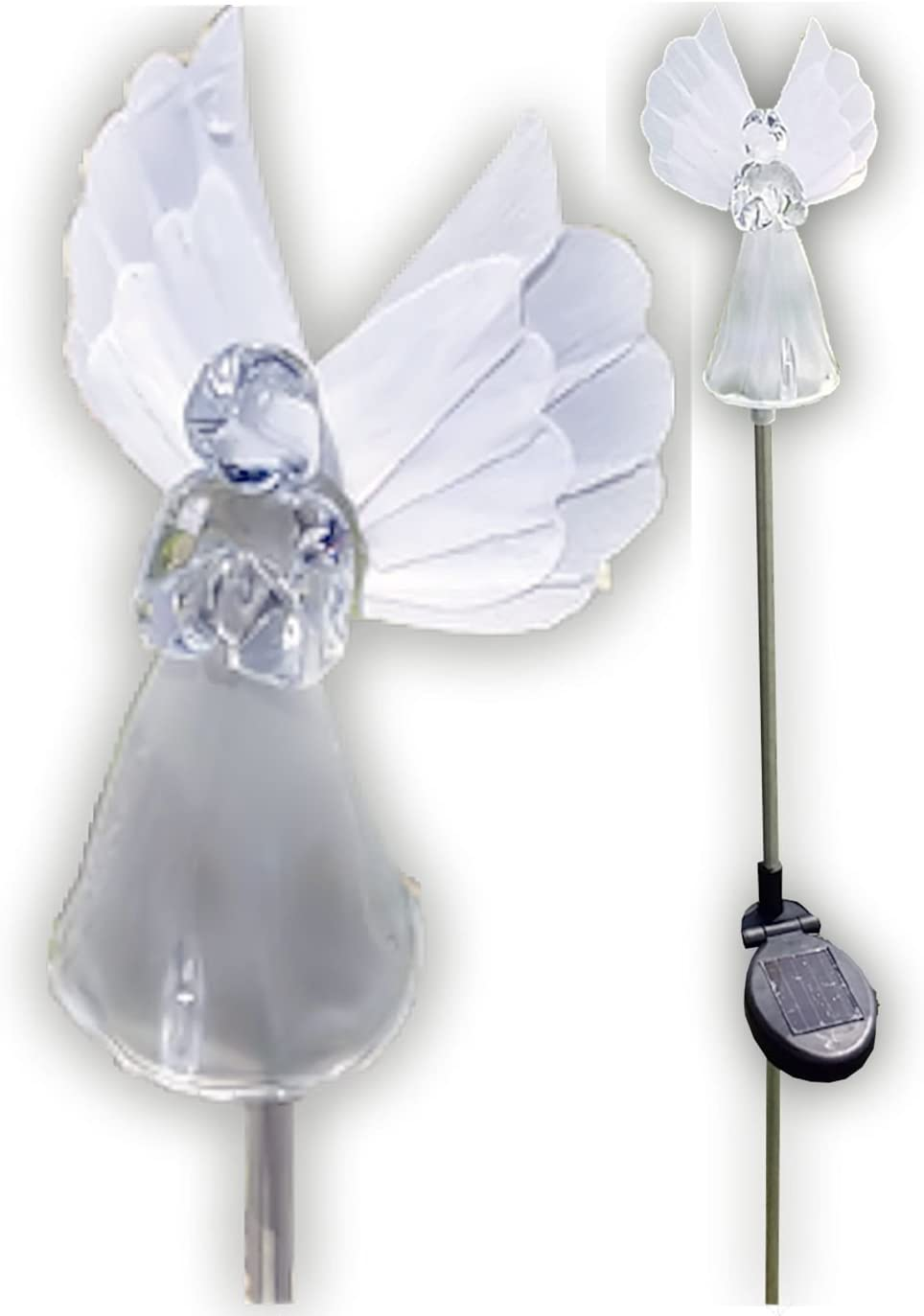 Solar Wholesale 1033-2 Angel Lights Stakes Now free shipping of Box Garden Max 67% OFF
