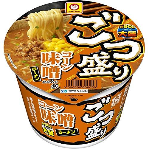3位:東洋水産『ごつ盛りコーン味噌ラーメン』
