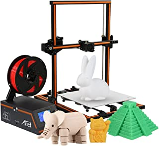 Anet E12 3D Printer DIY Kit Partially Assembled Aluminum Alloy Frame Super Large Building Volume 300300400mm with 8GB TF Card Aibecy Cleaning Cloth