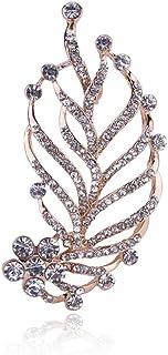 胸针,领针,丝巾扣,女性用ピンリーフブローチアクセサリー