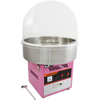 KUKOO Máquina de Algodón de Azúcar Acero Inoxidable Máquina ...