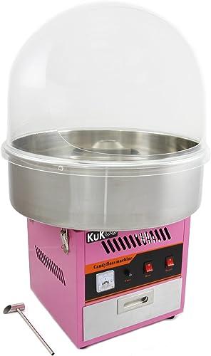 ventas en linea KUKOO KUKOO KUKOO - Máquina para Hacer Algodón de Azúcar con Domo Projoector  muy popular