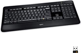 Logitech K800 Wireless Illuminated Keyboard ? Backlit Keyboard, Fast-Charging, Dropout-Free 2.4GHz Connection