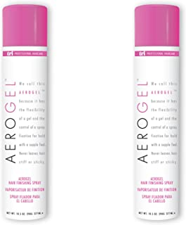 Aerogel Hair Finishing Spray 3 oz. - 4 cans