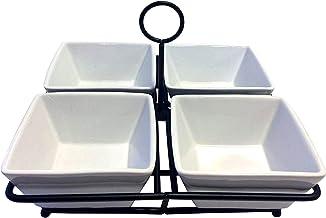 Partito Bella Geschirr-Set mit 4 Schüsseln, Porzellan, Kera