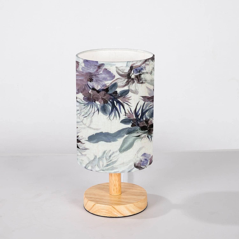 Minimalist Bedside Table Lamp Illustration specialty shop Indigo Watercolor Over item handling Nav