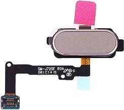 MUJUN Cell Phones Spare Accessories Fingerprint Sensor Flex Cable Repair Part Replacement for Samsung Galaxy J7 Duo SM-J720F (Color : Gold)