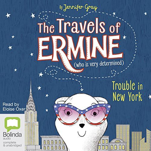 Trouble in New York audiobook cover art