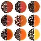 [page_title]-VAHDAM, Schwarzer Tee Sampler - 10 TEAS, 50 Portionen | 100% natürliche Inhaltsstoffe | Hoher Koffein, gesunder Kaffeeersatz Brew Hot, Iced, Kombucha-Teeset | Schwarzer Tee Loose Leaf | Tee Probierset