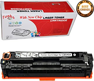 Ink & Toner 4 You Replacement for HP 125A (CB540A) Toner Cartridge for use with HP Color LaserJet CP1215 CP1518ni CP1515n CM1312nfi CM1312 MFP Series Printer, 1 Pack Black
