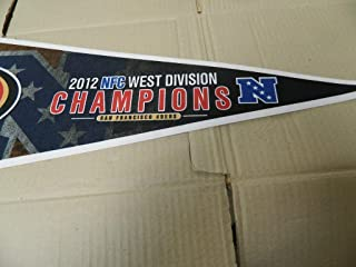 2012 SAN FRANCISCO 49ERS NFC Champions football Pennant