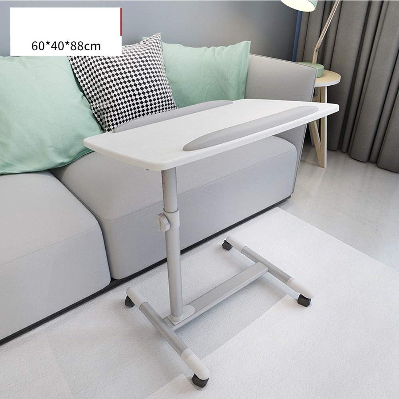 Zhirong Portable Mobile Laptop Table Bedside Table Sofa Table