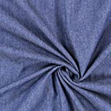 Fabulous Fabrics Jeans Jeansblau, Sonstige Motive, 145cm