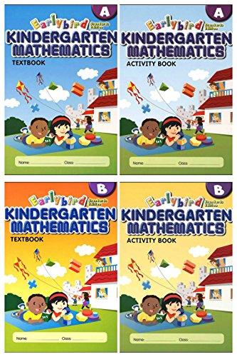 Earlybird Kindergarten Mathematics 4 Books Set (Standard Edition)