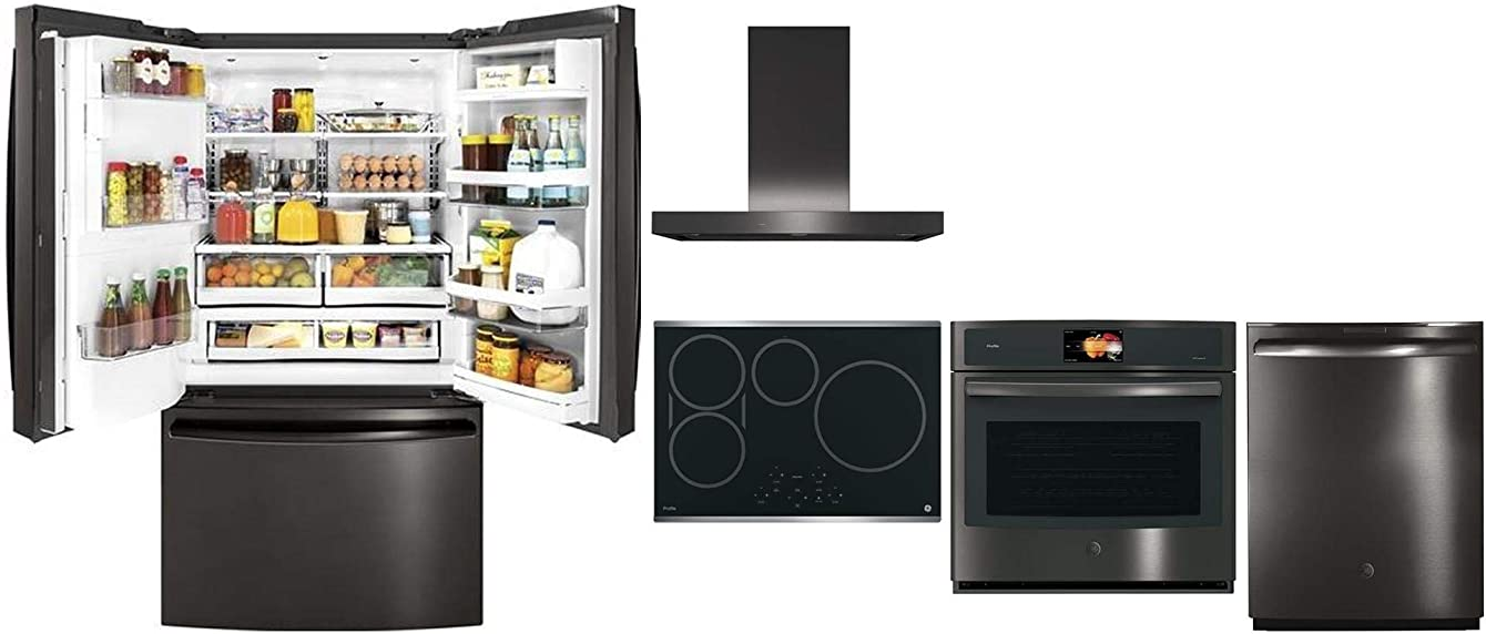 GE Profile 5 Piece Kitchen Package with 36