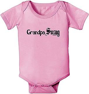 qidushop Strampler für Neugeborene mit Aufschrift Grandpa Swag
