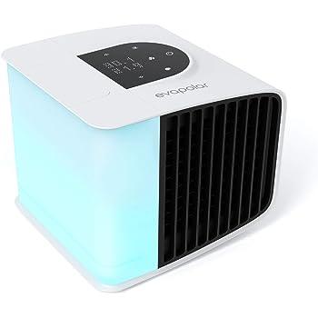 Evapolar evaSMART - Umidificatore d'aria personale ad evaporazione - Ventilatore portatile silenzioso controllato da Apple, compatibile con Alexa - LED colorato - Facile da usare