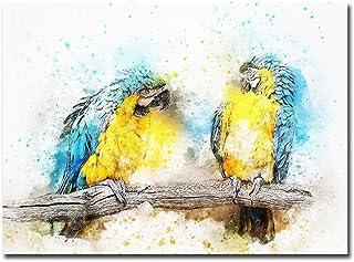EDGIFT2 Abstract Cute Animal Birds Poster Print Custom Wall Art Canvas Painting Photo..