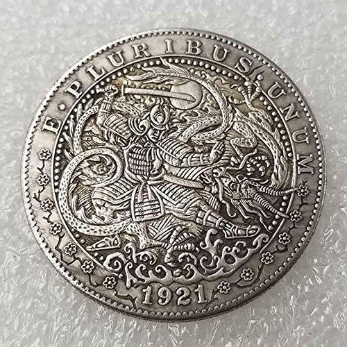 YunBest Morgan US Coins – 1921 Hobo Nickel Münze – Old Coin Collecting-US Dollar USA Old Morgan Dollar – überzogen US Crafts Coins BestShop
