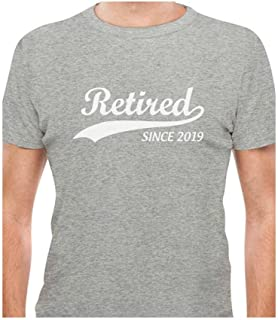 Tstars - Retired Since 2019 - Funny Retirement Gift T-Shirt