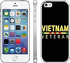iPhone 5S iPhone SE Vietnam Veteran Case,iPhone 5S iPhone SE Anti Slip Case Vietnam Veteran Case,iPhone 5S iPhone SE Vietnam Veteran Case Proud Vietnam Veteran Crystal Durable Case for iPhone 5/5S/SE