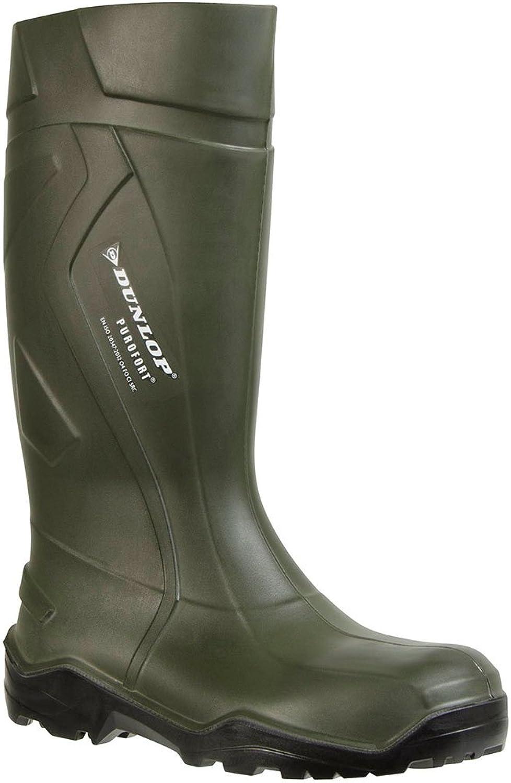 Ejendals 760933-37 Occupational Boots Dunlop 760933 Purofort Size 37, Green Black