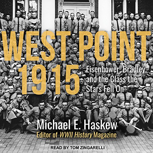 West Point 1915 audiobook cover art
