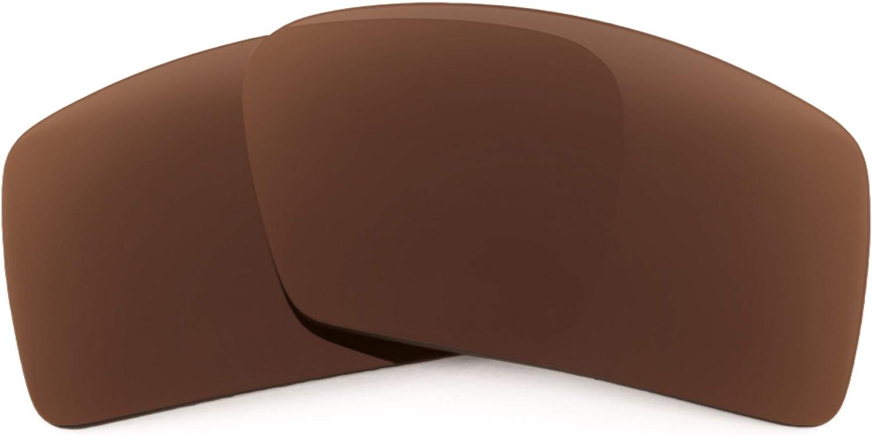Revant Verres de Rechange pour Oakley Eyepatch 1 - Compatibles avec les Lunettes de Soleil Oakley Eyepatch 1 Marron Foncé - Non Polarisés