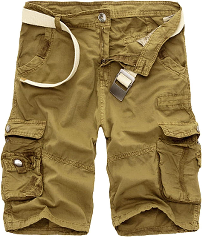 Summer Men Shorts Fashion Plaid Beach Casual Camouflage Military Short Pants Bermuda Cargo Overalls