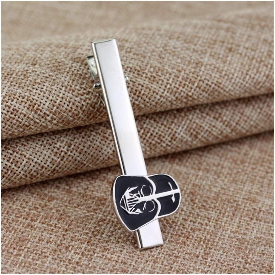Figure Cuff Links for Shirt Suit Cuff Buttons Women Men Accessories Cufflinks Tie Clip (Metal Color : A)