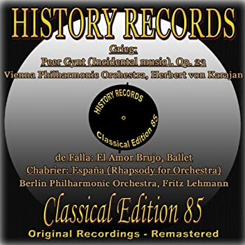 History Records - Classical Edition 85 (Original Recordings - Remastered)
