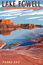 Lake Powell - Padre Bay (24x36 Giclee Gallery Print, Wall Decor Travel Poster)