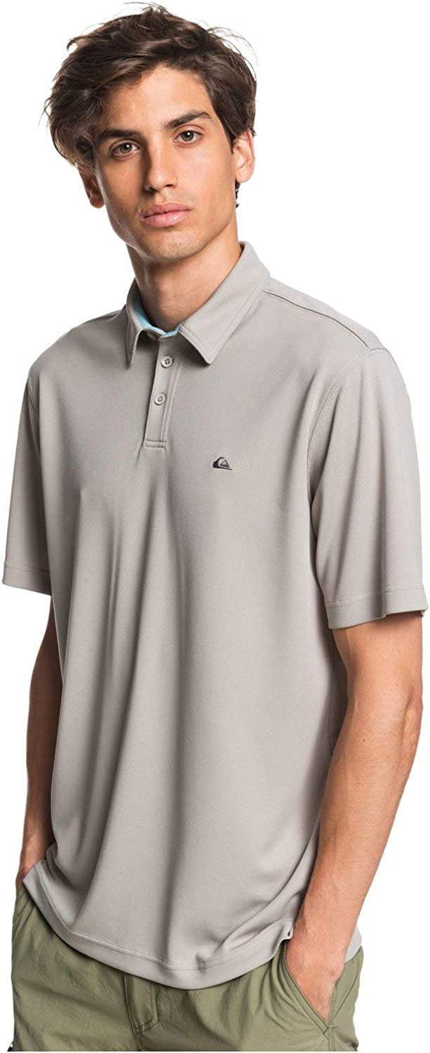 Quiksilver Men's Water Polo Choice 2 Collared Dry Lightweight Popular brand Quick Pol