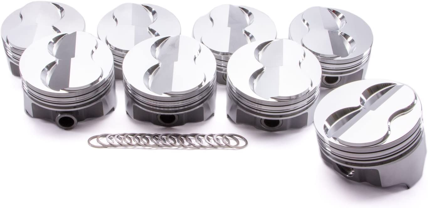 Icon IC727.030 Domed Forged Piston Set for Small Block Chevy