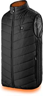 Heated Vest, Power Bank Powered Adjustable Lightweight Heated Vest for Men Outdoor Warm Jacket(Battery Not Included)