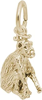 Monkey Charm, Charms for Bracelets and Necklaces