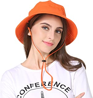 QingFang Summer Quick-Dry Bucket Hats for Men and Women UPF50+ Outdoor Sun hat UV Protection Beach Hat