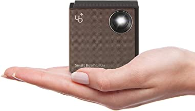 UO Smart Beam Laser, CES Awarded Portable Mini Projector, 1280x720HD, Focus Free Class 1..