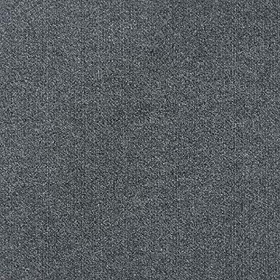 """S&H 24"""" x 24"""" Spyglass Single Rib Premium Peel & Stick Carpet Tiles - 15 Tiles Per Box, 60 sq ft. (Sky Gray)"""