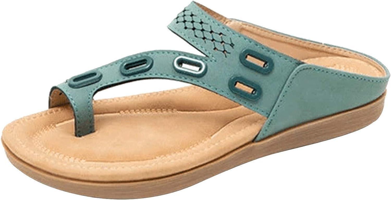 Sandals for Women, Flat Massage Flip Flops Women's Sandals And Slippers