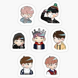BeliNZStore BTS Spring Day Set Stickers (3 Pcs/Pack)