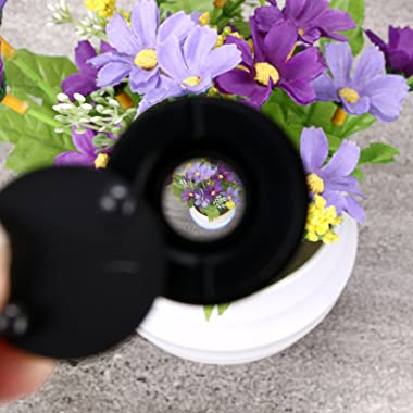 """Sumnacon Safety Door Viewer,Solid Brass 220-degree Door Viewer/Peephole with Heavy Duty Rotating Privacy Cover for 1-3/8"""""""