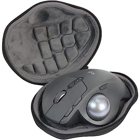 Logicool ロジクール MX ERGO MXTB1s bluetooth ワイヤレス トラックボール スーパー便利な ハードケースバッグ 専用旅行収納 対応 co2CREA (Size S)