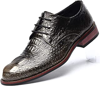 Men's Fashion Casual Leather Shoes Pointed Toe Business Suit Shoes Wedding Dress Shoes